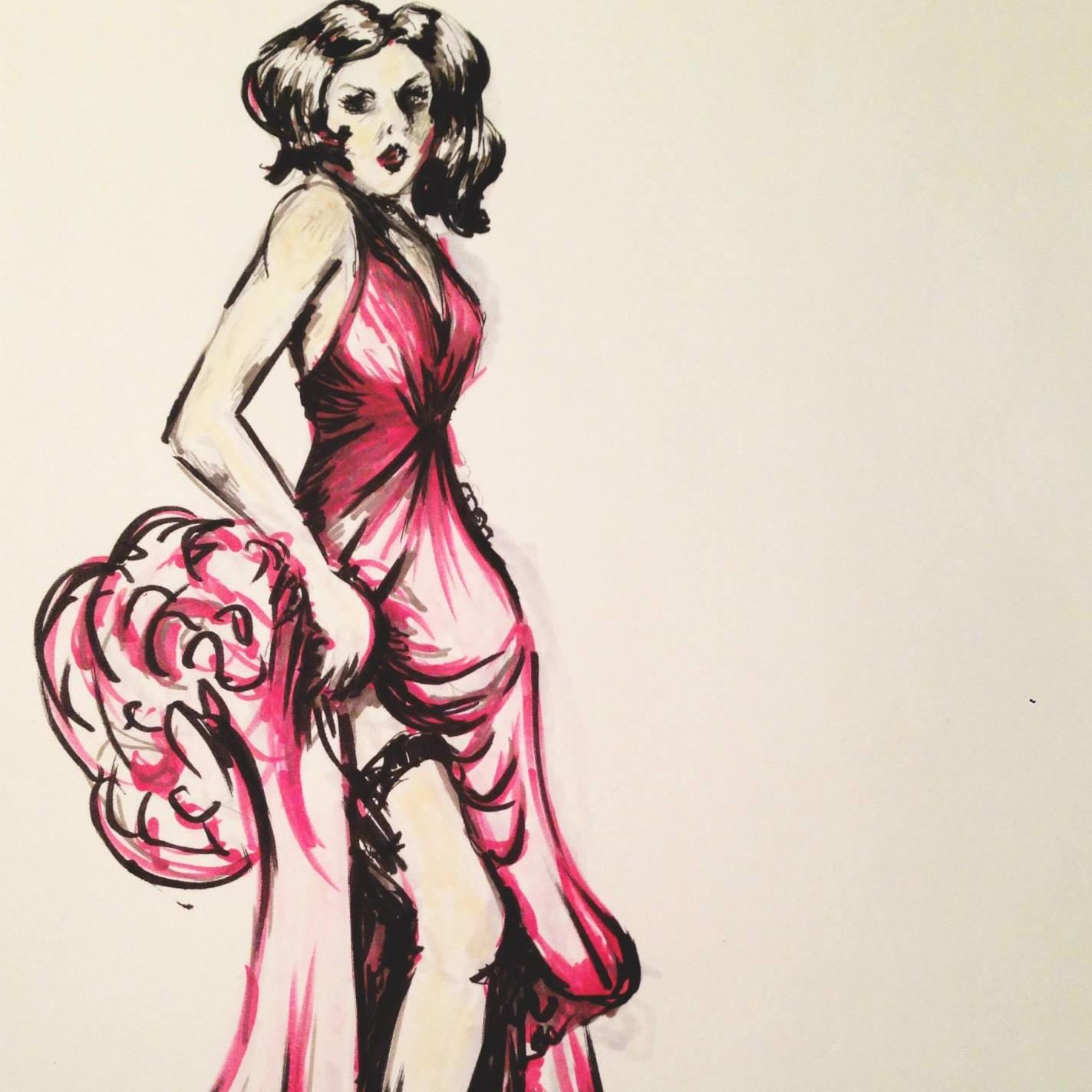 Camilla Kydland | Spy vs Spy Fashion Illustration