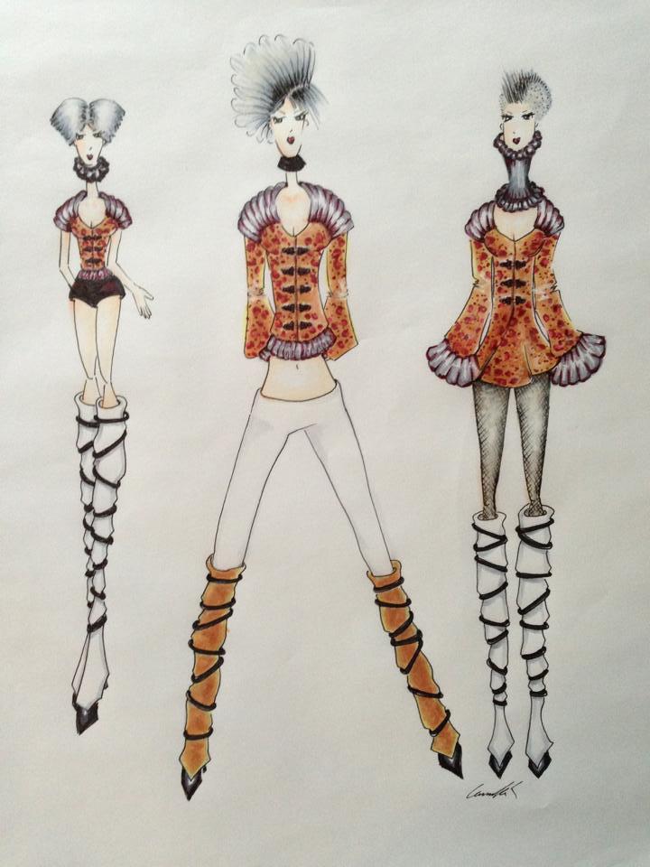 Camilla Kydland | Urban Streetwear Fashion Illustration
