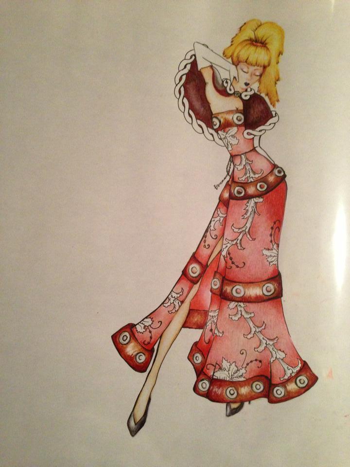 Camilla Kydland | Barbie Fashion Illustration