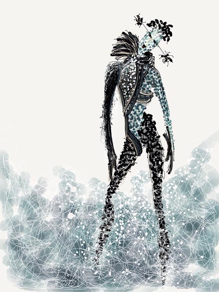 Camilla Kydland   Biological Armor Illustration